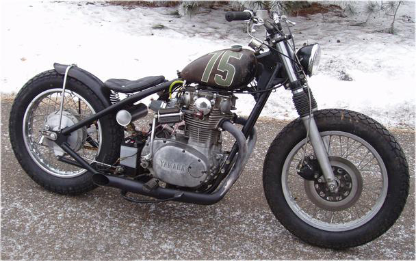 i picked up a titled 73 xs650 frame and motor from him via good old ebay for the low low price of - Xs650 Frame